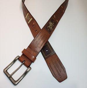 Other - LSU Louisiana State University Tigers Leather Belt
